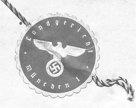 Ein Bild des Sondergerichtstempels in München.