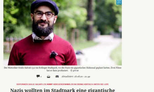 Hans Moritz vom Erdinger Anzeiger berichtete am 18. August 2020 über die zweiteilige Dokureihe